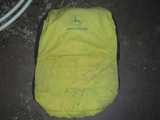 John Deere Riding Mower Lawn Garden Tractor Pull Over Seat Cover 92324 Pocket JD