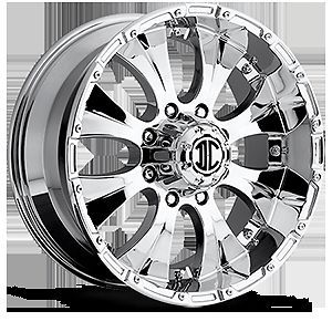 "17"" inch 8x170 Chrome Extreme NX 2 Wheels Rims 8 Lug Ford F250 F350 Excursion"