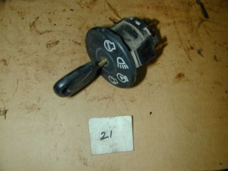 John Deere L110 Riding Lawn Mower Ignition Switch