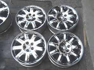 "PT Cruiser 16"" Chrome Alloy Wheel Rims Rim Set LKQ"