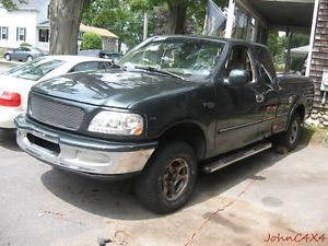 1997 97 Ford Extended Cab 4x4 F150 XLT 5 4L Windsor Engine Auto Trans 180K Mile
