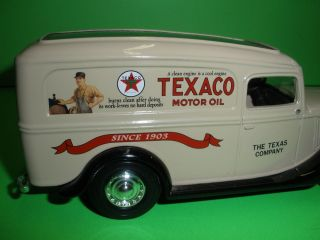 Texaco 1936 Ford Panel Van Truck American Heritage Series Ertl New 1 25 A
