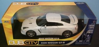 New Collectors Limited Edition 1 18 Jada Dub City 2009 Nissan GT R Diecast Car