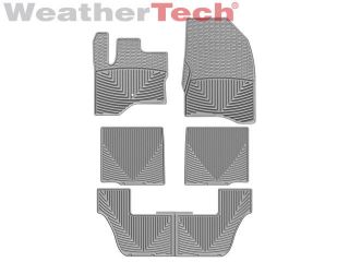 Weathertech® All Weather Floor Mats Ford Flex 2009 2011 Grey