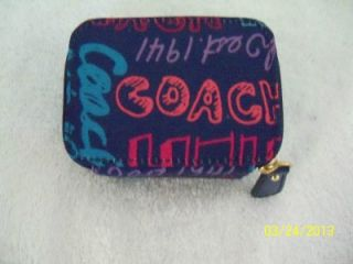 Coach 62346 Story Patch Pill Box Medicine Box Pill Holder Medication $58