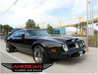 1975 Pontiac Firebird Espirit with Formula Look RAM Air Hood A C PS PB Fast FL