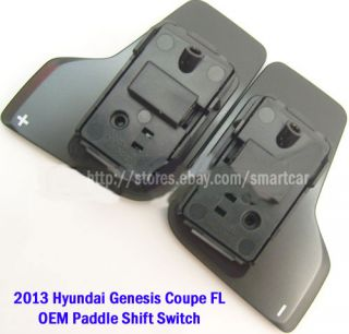 2013 Hyundai Genesis Coupe Facelift Paddle Shift Shifters Assy DIY Kit