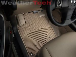 Weathertech® All Weather Floor Mats 2006 2012 Toyota RAV4 Tan