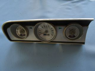 1964 Ford Fairlane 500 Sports Coupe Speedo Instrument Cluster Gauge