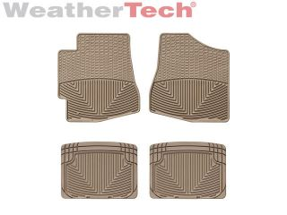 Weathertech® All Weather Floor Mats Toyota Highlander 2001 2005 Tan