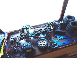 Traxxas Gas RC Car Monster Buggy Truck for Repair Extra Parts