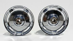 09 10 11 HD Harley FLHX Street Glide Streetglide New Chrome Wheel Rim Set Wheels
