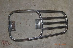 Harley Davidson Softail Deluxe Rear Chrome Luggage Rack