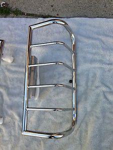 Hummer H3 Stainless Steel Tail Light Guard 2005 2010