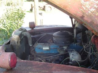 1949 Chevy Truck Rebuilt Engine Steel Bed Good Tires