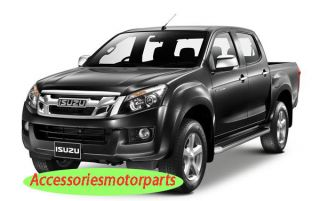 Tank Fuel Cap Door Cover Trim for All New Isuzu D Max 2012