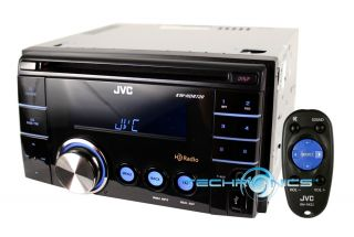 JVC Car Double DIN Stereo HD Radio  WMA CD Player Front USB Receiver