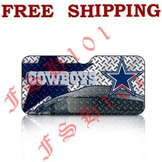 New NFL Dallas Cowboys Windshield Folding Auto Sun Shade Standard Size