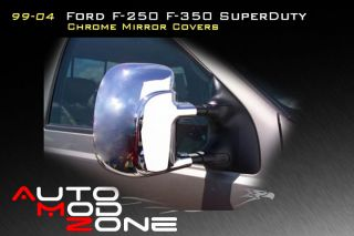 99 04 03 Ford F250 F350 Superduty Chrome Mirror Covers