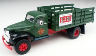 HO Scale 41 46 Chevy Stake Bed Truck Railway Express CMW 30340