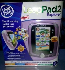 Leap Frog LeapPad 2 Pink Brand New in Box