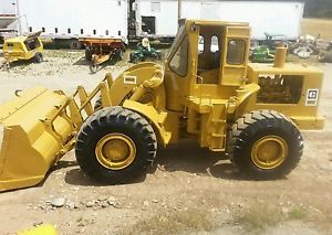 Cat 966 C Wheel Loader 4 yd Diesel Engine Powershift Cab