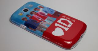 One Direction 1D Oned Hard Case Cover for Samsung Galaxy S3 SIII I9300