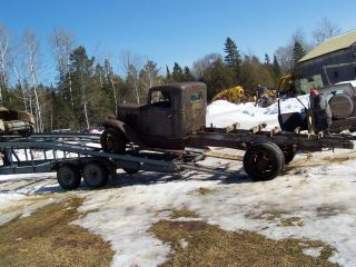 1934 1935 1936 1937 IHC International Dually Truck Project Parts Rat Rod
