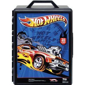 Hot Wheels Mattel 48 Fast Car Carry Carrying Case Toy Car Hotwheels Car Storage