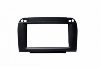 Mercedes Benz s Class Double DIN Dash Installation Kit Black