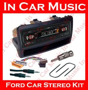Ford Focus USB SD Aux in Radio Tuner Car Stereo Kit