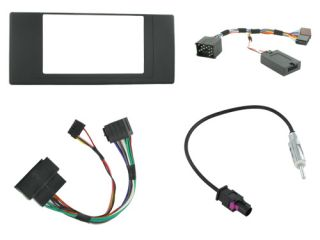 BMW x5 E53 Car CD Stereo Double DIN Radio Replacement Fitting Kit CTKBM05