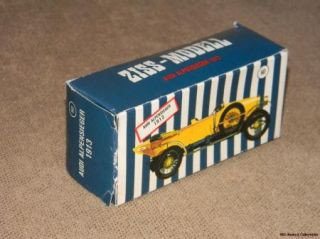 Vintage 1960s Ziss Modell Model Car Original Box Only Germany Audi Alpensieger