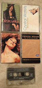 Mariah Carey Honey Emotions Crystal Waters Storyteller More 5 Cassettes