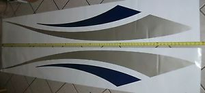 Teardrop camper Stripes Popup Decals Snowmobile Graphics Enclosed Trailer Cargo