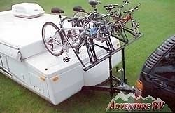 Prorac 4 Four Bike Bicycle Carrier Rack Popup Tent Trailer camper RVPB040 1