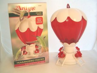 Bird Feeder Hot Air Balloon Hummingbird Feeder 32oz