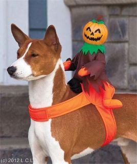 Dog Pet Halloween Costume Outfit Accessories Grim Reaper Pumpkin Ghost