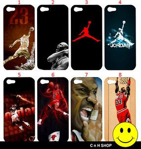 Michael Jordan Chicago Bulls NBA Basketball iPhone 5 Case Casing