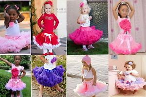 Girl Baby Kids Skirt Party Dance Dress 1 Pcs Pettiskirt Tutu AGES1 8Y Costume