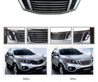 New Front Hood Radiator Tuning Grill for Kia Sorento 2011 2012