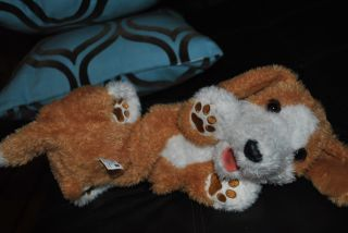 FurReal Friends Tumbles Interactive Puppy Dog Toy My Roll Over Pup Pets 14""