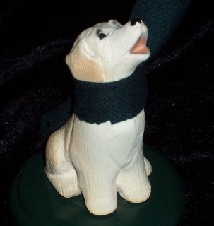 Byers Choice Carolers Retired Labrador Retriever Dog Puppy Fur Animal RARE