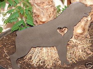 Rottweiler Pet Dog Memorial Garden Yard Lawn Decor K9