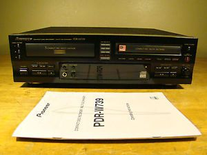 Pioneer PDR W739 Compact Disc CD Player Recorder Multi CD Changer PDRW739
