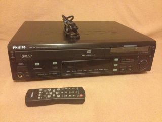 Philips CDR800 3 Disc CD Changer Recorder Burner Player Combo w Remote 037849909362