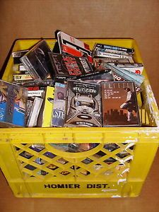 Old School Cassettes Tape Lot Gangsta Rap Hip Hop Classic Singles Full Huge