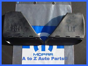 New 2009 2012 Dodge Challenger SRT8 R T Hood Scoops OEM Mopar