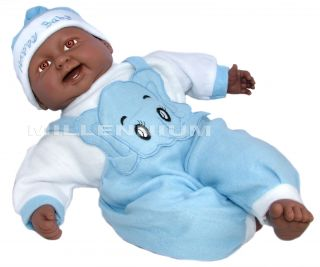 Black Baby Doll Toddler Child Soft Body Dolls Clothes