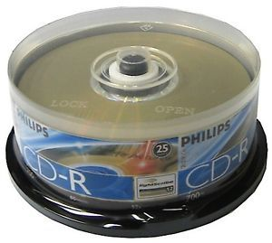 50 CDMRPHLS CD Recordable Disc Philips Lightscribe CD R 52x CDR Data Audio